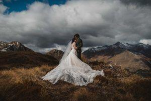 Anne curtis smith and Erwan Heussaff queenstown wedding